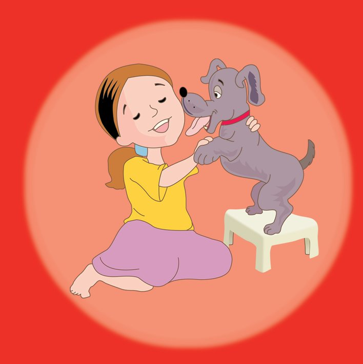 Blaik et son chien