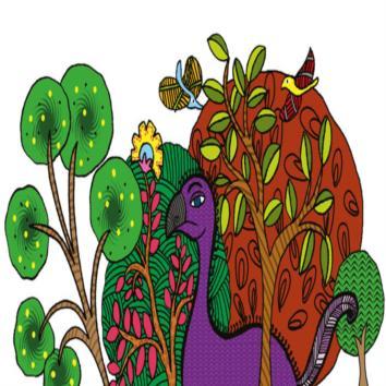 Meena and her bird