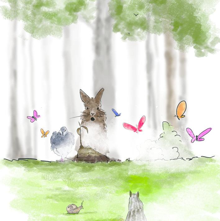 Il coniglio e i lupi