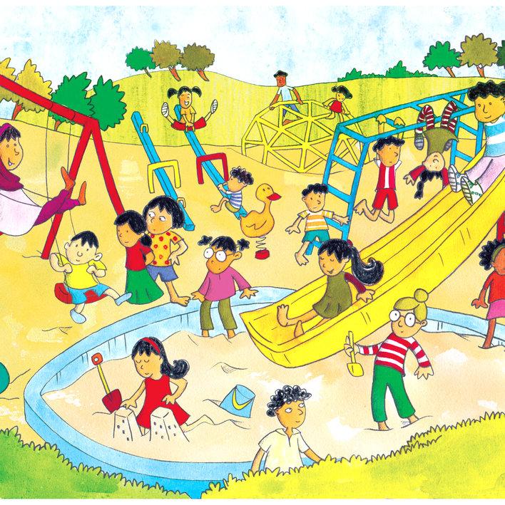 Lavanya at the Playground