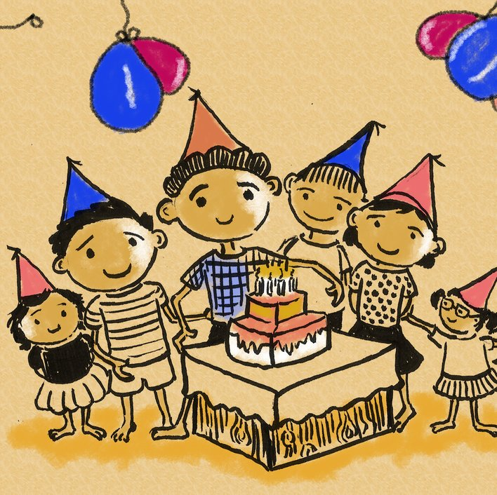 CELEBRATION OF MY BIRTHDAY