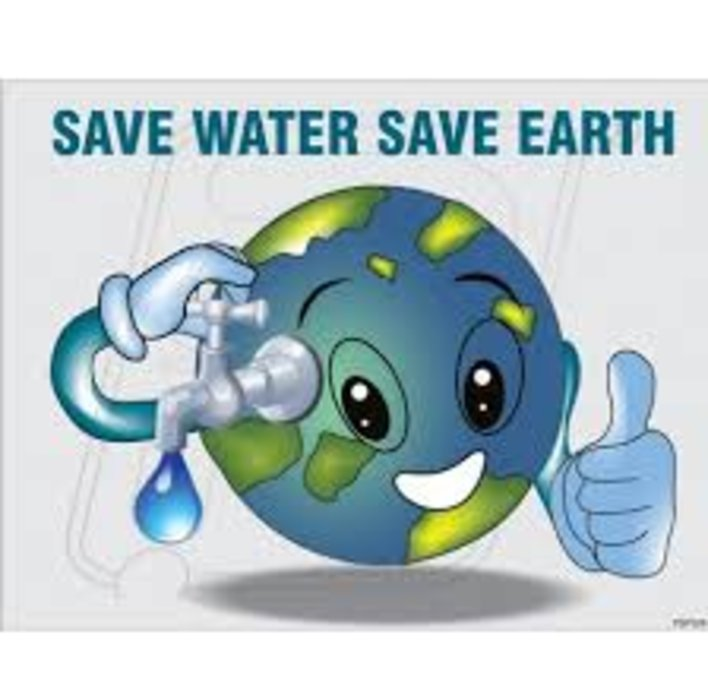 Every drop of water COUNTS!!!