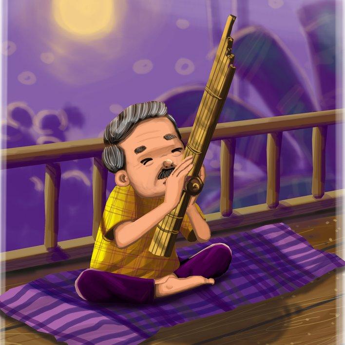 Zakib: The Great Singer