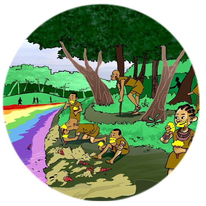 Magical Rainbow River