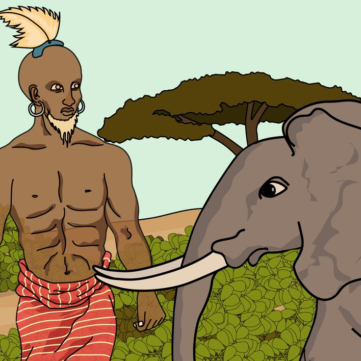 Elephant and the Spirit